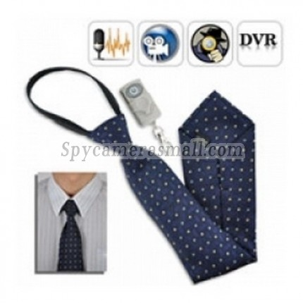 New Tie Spy Camera recorder - Spy Camera Tie with Wireless Remote control Neck Tie Spy Camera DVR w/ 4GB & Remote Control
