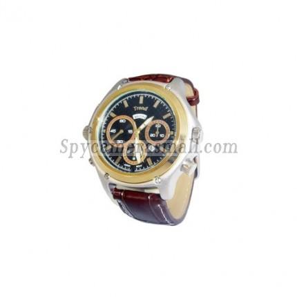 hidden Spy Watch Cameras - 1080P HD Waterproof Spy Watch with Web Camera (4GB)