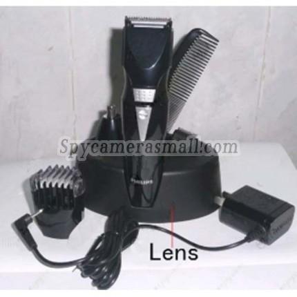 Shaver HD Shower Spy Camera DVR - Integration full-size Quad Rechargeable Beard Trimmer Hidden Bathroom spy camera HD 720P Spy Camera DVR 32GB (Motion Activated)