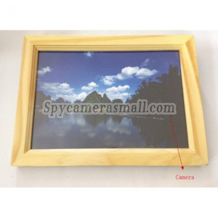 Digital Photo Frame Camera DVR - 16GB Remote Control Hidden Digital Photo Frame Pinhole Camera DVR