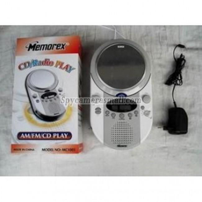 Waterproof Spy Radio Camera /DVR (Motion Ativated) - Waterproof Spy Radio/CD With Mirror Hidden 720P HD Pinhole Waterproof Spy Camera DVR 16GB