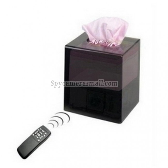 Toilet roll Box hidden spy Camera - CCD 480TVL HR DVR Tissue Box Covert DVR Camera Supporting 32GB SD Card up to 64 Hours
