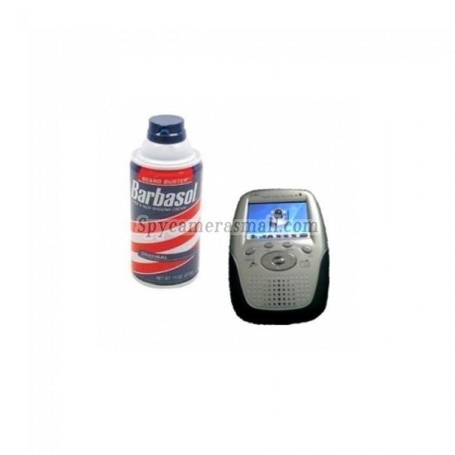 Spy Wireless Shaving Cream Camera - Wireless Hidden Spy Camera 2.4GHZ MP4 Player Receiver
