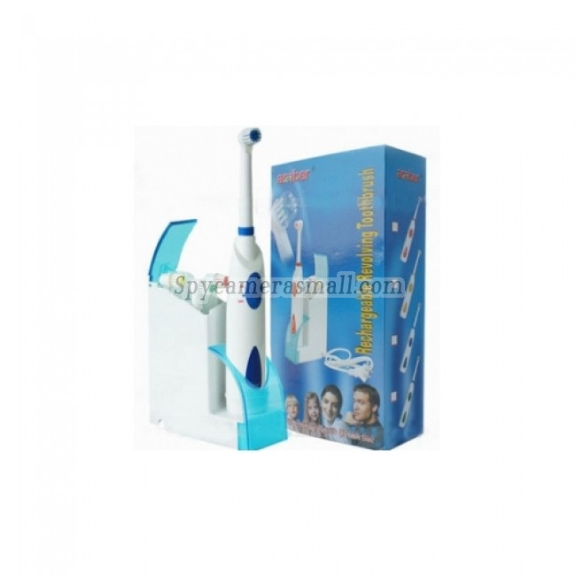 Toothbrush Hidden Spy Camera - Spy Toothbrush Hidden Pinhole 1280X720 HD Bathroom Spy Camera DVR 16GB(motion activated)