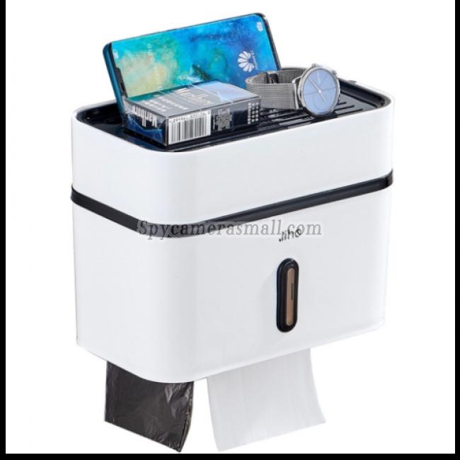 2021 Toilet Roll Box Spycamera Toilet Camera HD Motion Detection Bathroom Hidden Spy Camera DVR 32GB