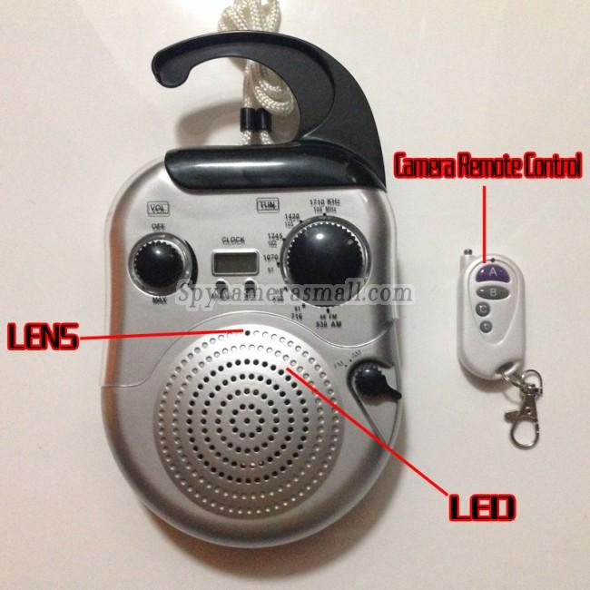 skryté kamery v rádio HD 16G 720P DVR s detekcí pohybu nejlepší skrytá kamera