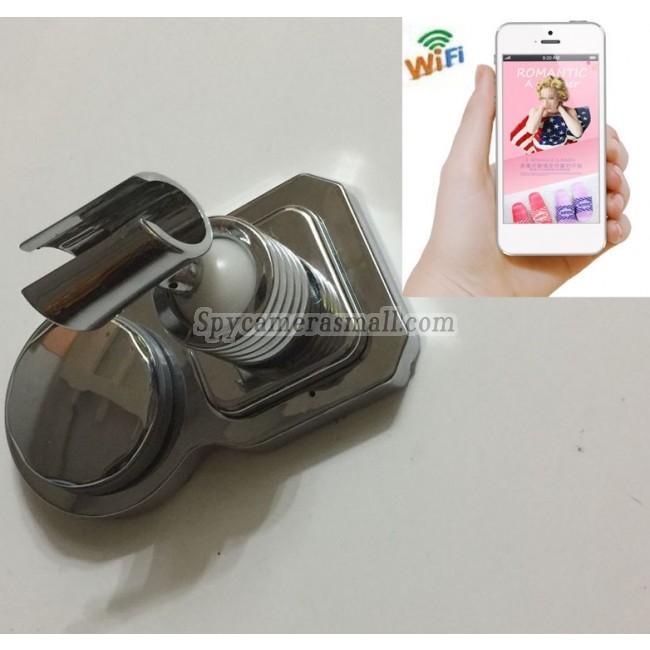 Wireless Hidden Camera for Bathroom Waterproof Spy shower rack camera with 16G sd Card For iOSAndriod System