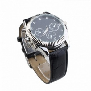 spy cameras - Classic Design Watch with Surveillance Video Camera