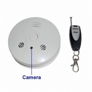 spy dvr - 4GB Smoke Detector with 2.0MP Hidden Camera (2.0MP+Remote Control)