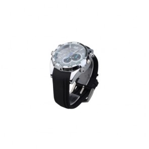 HD hidden Spy Watch Cam - WaterProof HD Camera IR Night Vision Wristwatch Camera With 16GB Memory