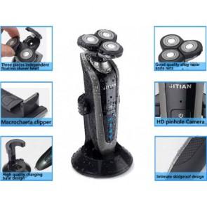 Shaver Spy Camera - HD Bathroom Spy Camera Waterproof Spy Shaver Camera DVR 32GB 1280x720