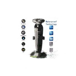 1280X720 Waterproof Shaver Spy Camera DVR For Bathroom with 16GB internal Memory
