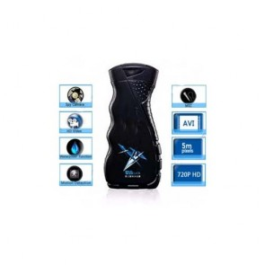 spy cameras in bathrooms - 32GB Men's Shower Gel HD Bathroom Spy Camera 720P DVR with Motion Detection Remote Control