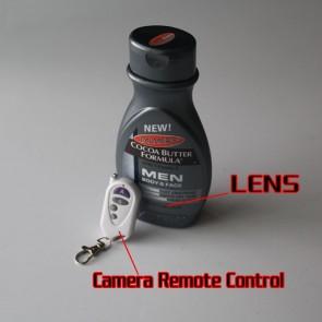 High Resolution Digital Spy Shower's gel Bottle Hidden Camera 32GB
